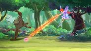Flaming attack 711