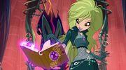 Selina summoning spells using legendarium.jpg