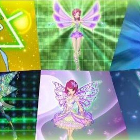 Winx Club - Tecna All Full Transformations up to Tynix! HD!