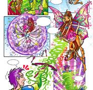 Knights & Ladies - Tecna & Flora's Spells