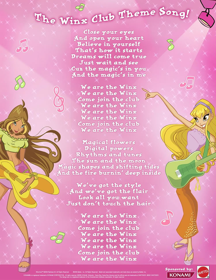 We Are the Winx (Theme Song)