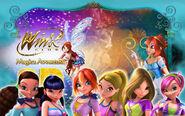 Winx Club 3D Magica Avventura Wallpaper 1280x800