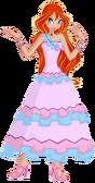 Bloom 3 Pink Dress Full