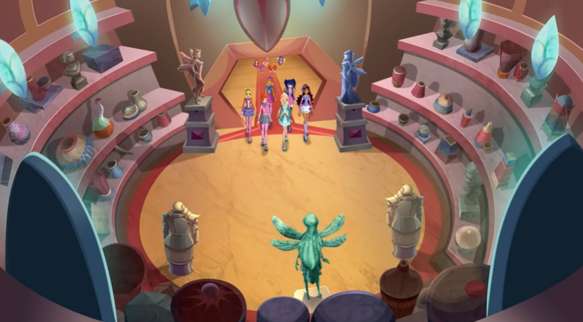 Cámara de secretos de Alfea