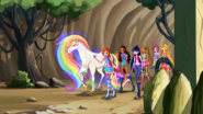 Creature of the Rainbow Mantle with the Winx