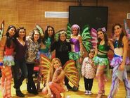 Winx Club Christmas Tour - Backstage with crew