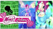 Winx Club - Tecna All Transformations