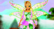 Winx club flora bloomix by mke7-d6oxi3r