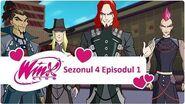 Winx Club - Sezonul 4 Episodul 1 - Vrăjitorii Cercului Negru -EPISODUL COMPLET-