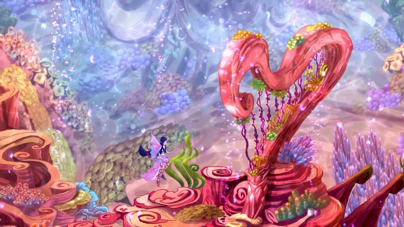 Coral Harp