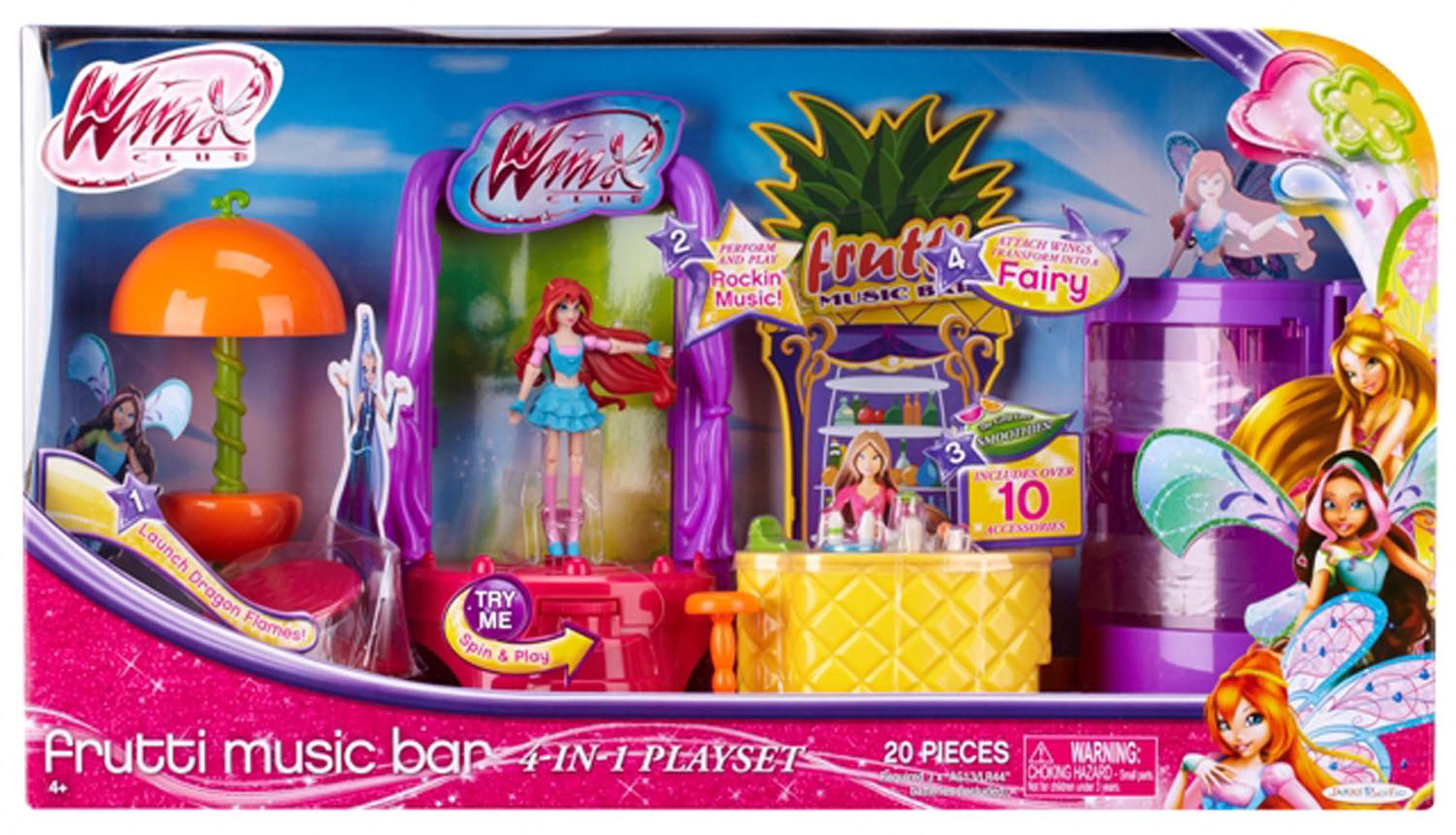 Frutti Music Bar 4-in-1 Playset