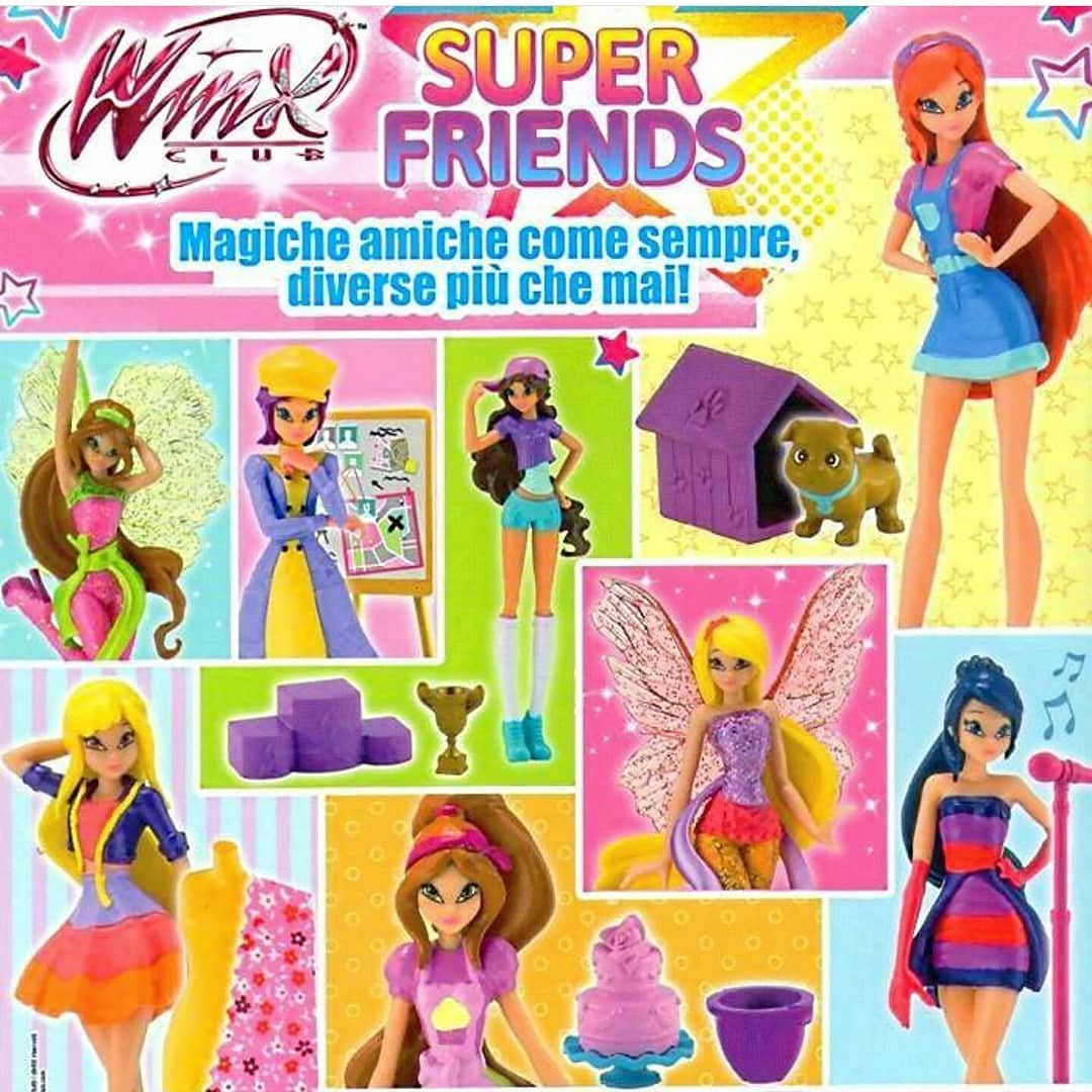 Winx Super Friends