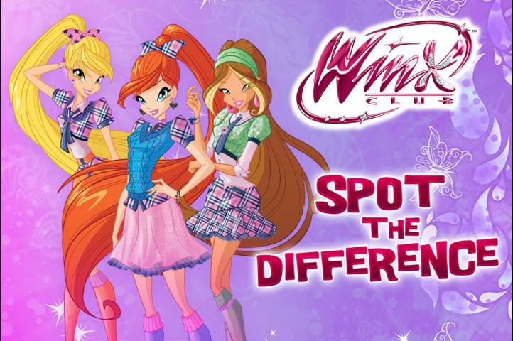 Winx Club: Spot the Difference