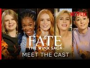 Meet the Cast of Fate- The Winx Saga - Netflix