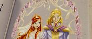 Blooms und Skys Hochzeit im Buch des Schicksals