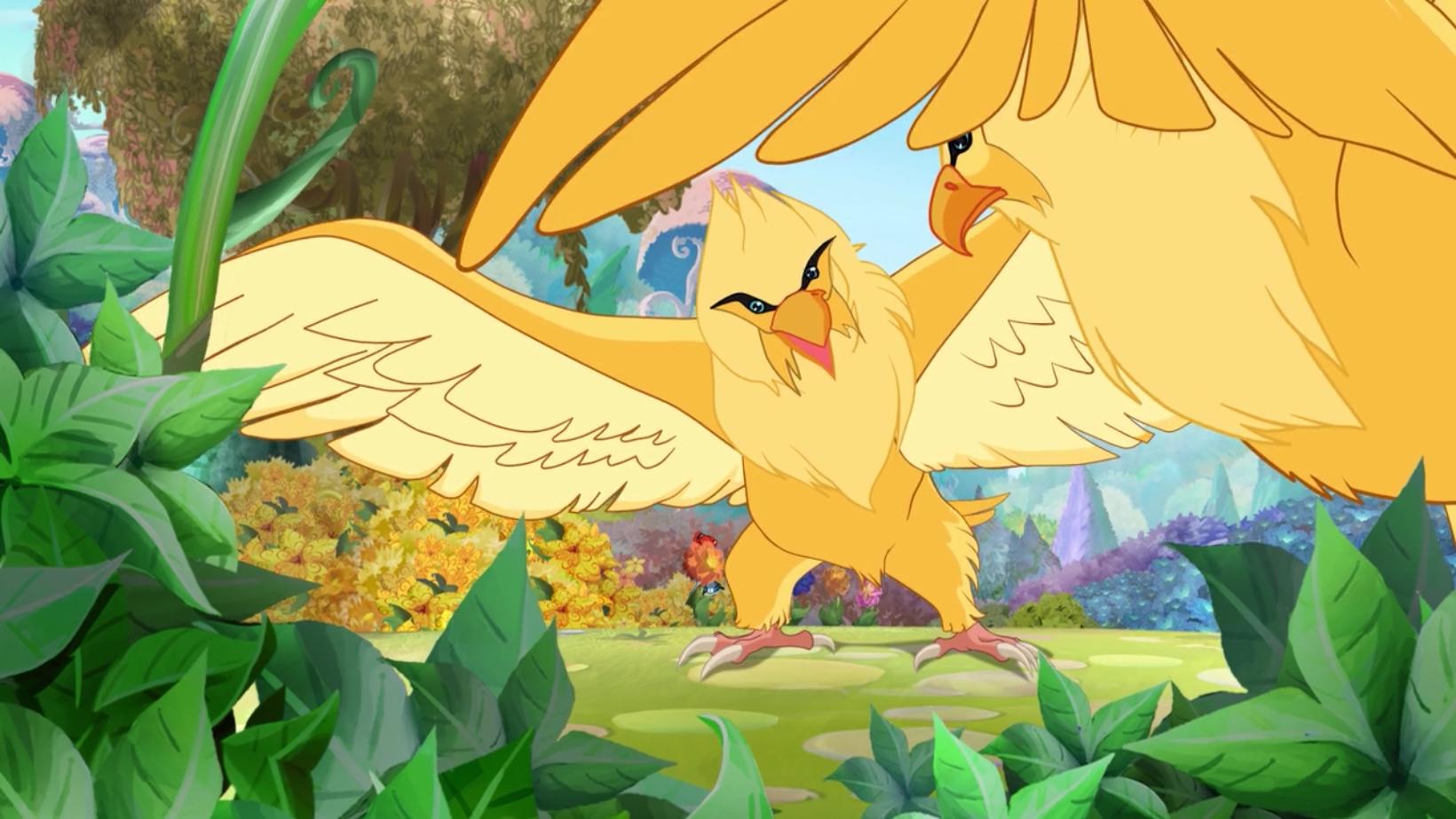 Riesige Adler