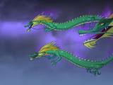 Grüne Drachen der Chinesischen Mauer