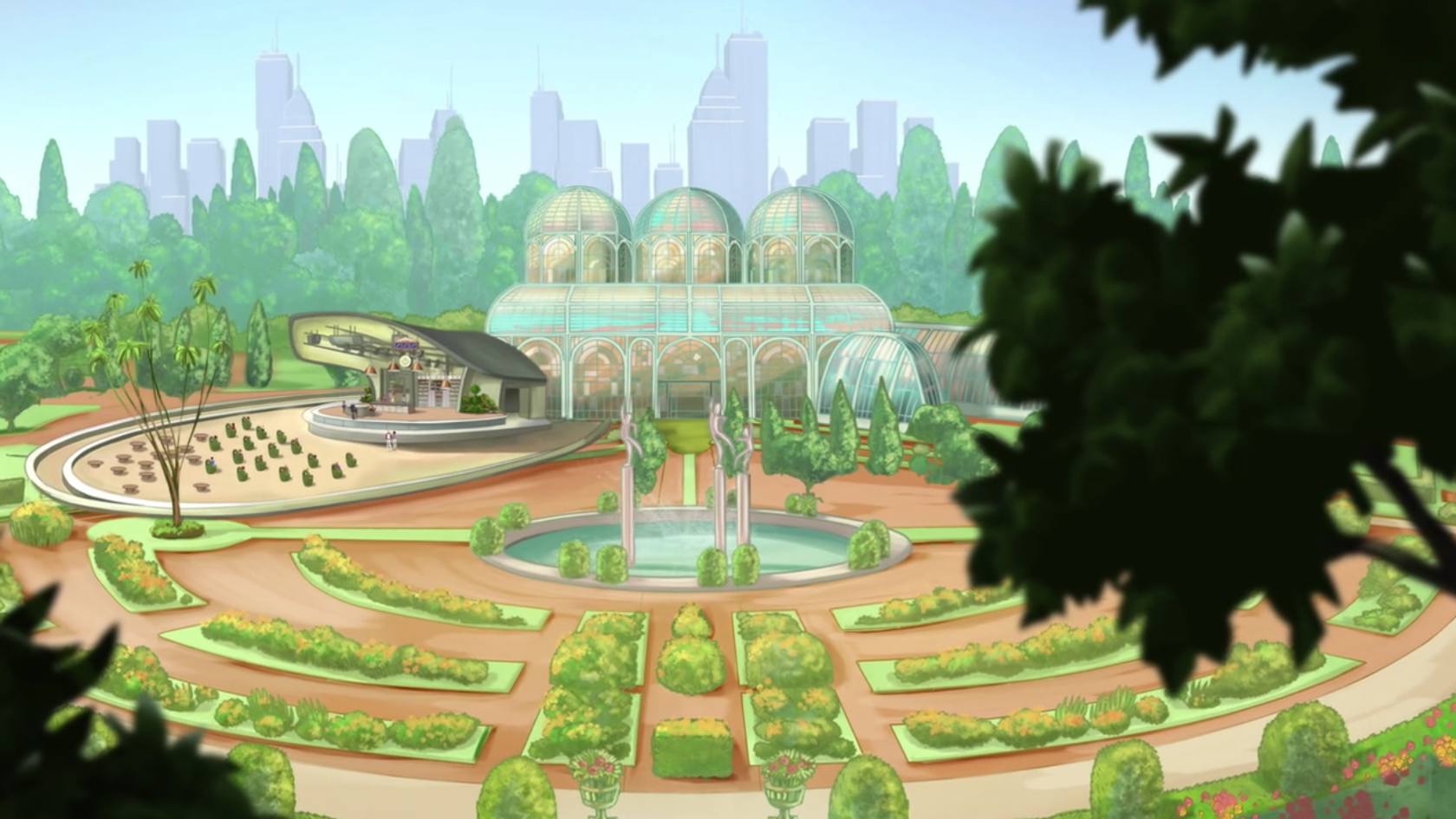 Botanischer Garten von Gardenia