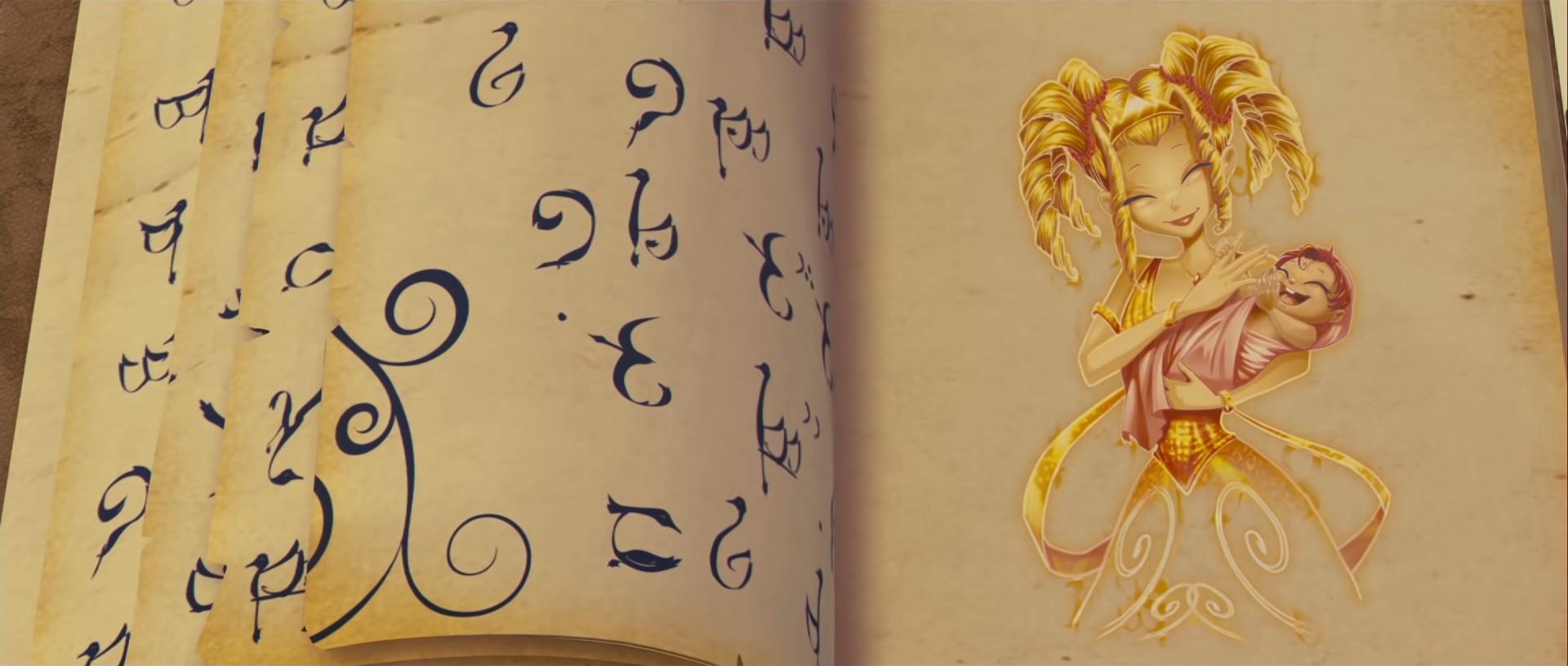 Daphne und Bloom im Buch des Schicksals.png