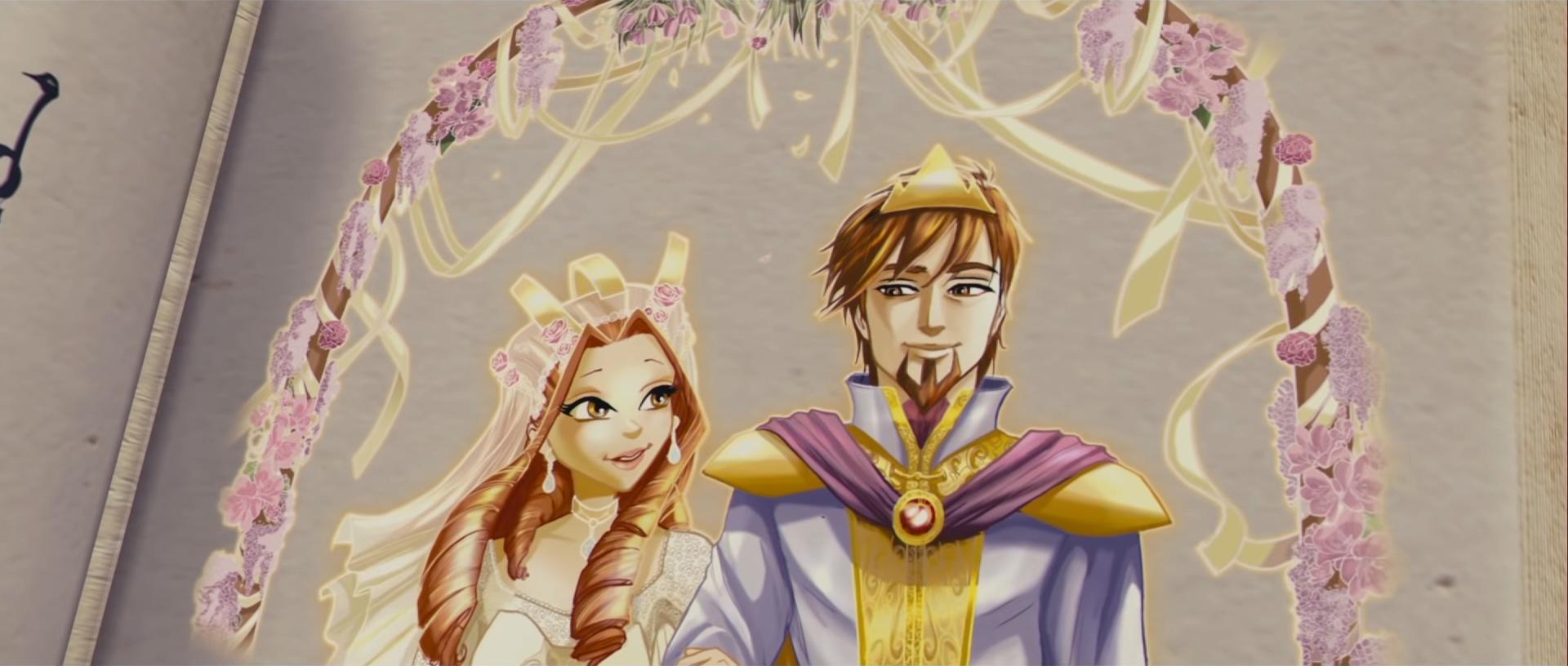 Oritel und Marions Hochzeit im Buch des Schicksals 02.png