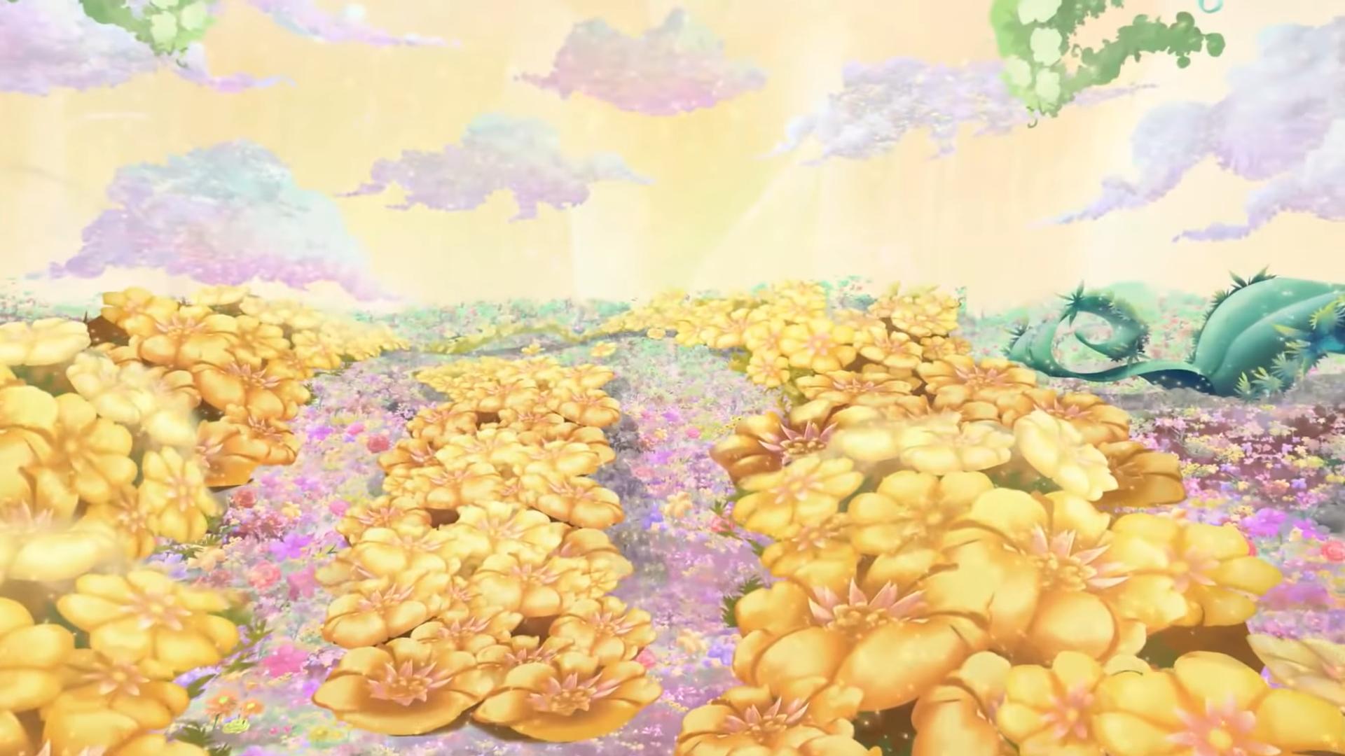 Blumen-Miniwelt
