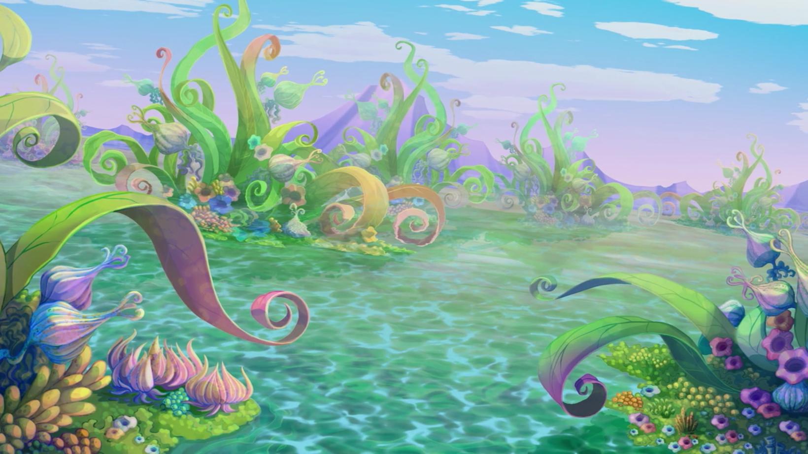 Ozean der Blumen