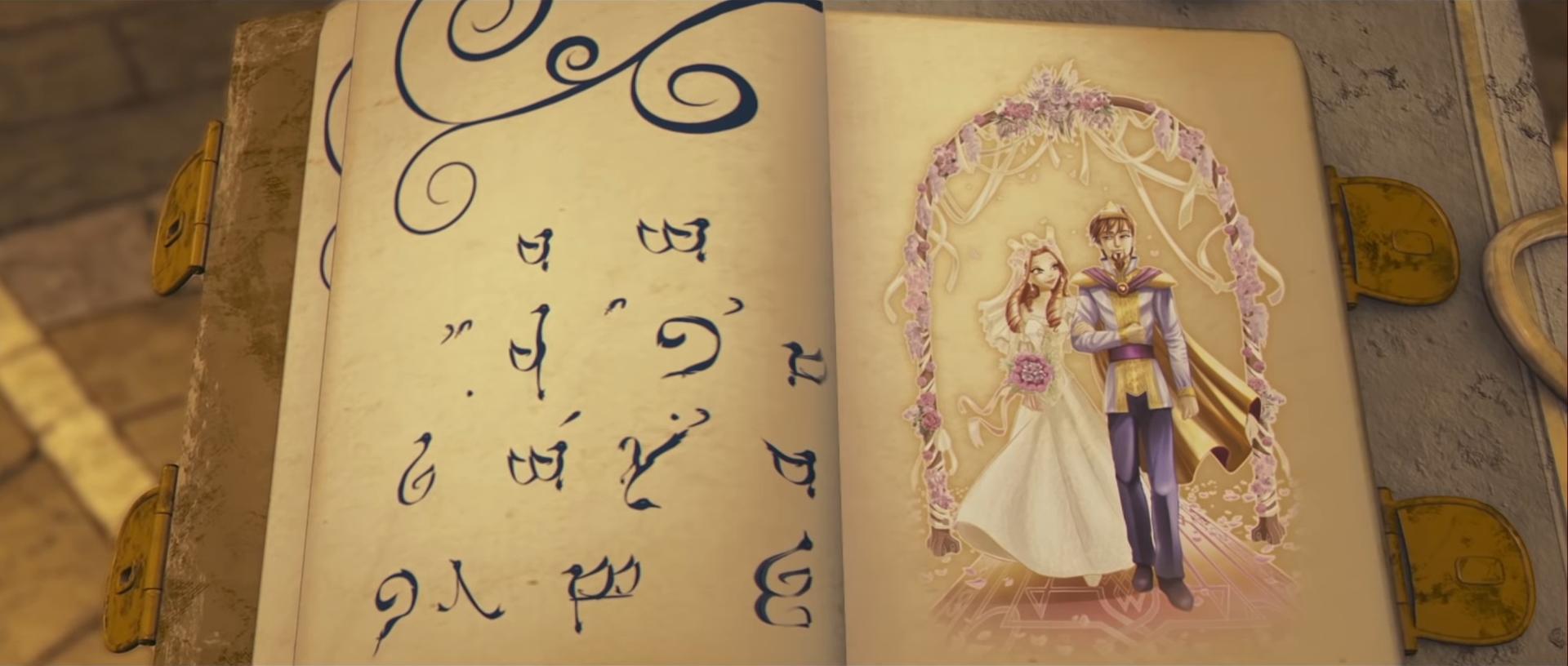 Oritel und Marions Hochzeit im Buch des Schicksals 01.png
