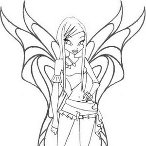 Coloring Pages Winx Club Image Wiki Fandom