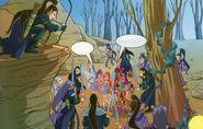 Тёмные эльфы напали на Винкс