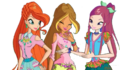 The winx club bloom flora and roxy 7 seasons by princessbloom93-d9ae9t3