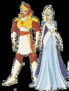 Король и королева Солярии