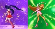 304 и 310-Муза и Флора трансформа ляп