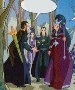 Тёмные эльфы и Морвен