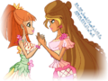 Winx club miele and flora png by magic world of winx-d8601rx