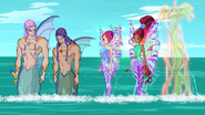 Нереус, Тританнус, Блум, Лейла и Дафна 526