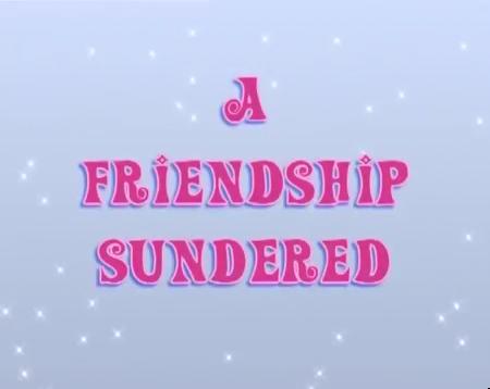 Дружба рушится