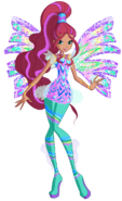 Aisha sirenix by winx rainbow love