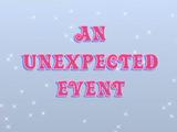 Неожиданное событие