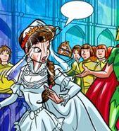 Алексия в свадебном