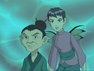 Yan Lin and Younger version of Mira