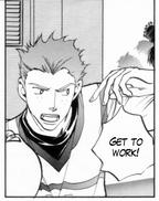 Uriah in the Manga