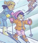 Peter and Taranee as kids