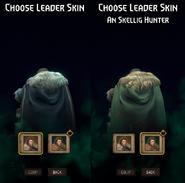 Skins Eist back