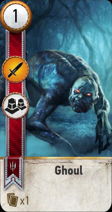 Ghoul (gwent card)