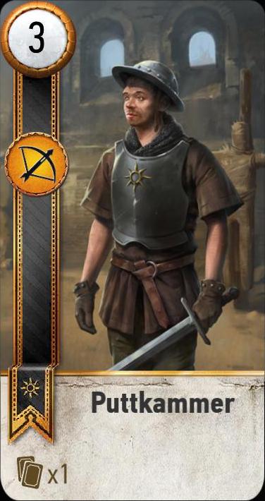 Puttkammer (gwent card)