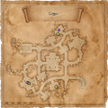 Map Lionhead spider cult crypt