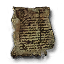 Decaying letter