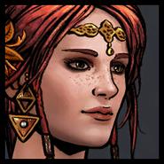 Triss Elven Style Avatar Gwent
