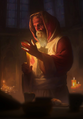 Gwent cardart syndicate keeper of the flame