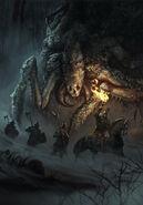 Gwent cardart monsters frightener dormant